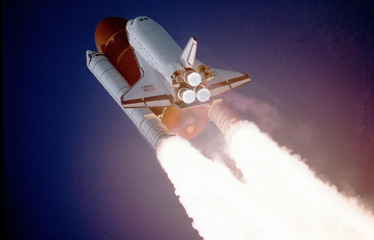 ロケットに乗った藻 -藻、宇宙へゆく-