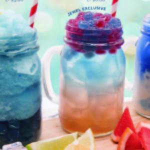 【スピルリナStyle】青いタピオカミルクティー@シンガポール